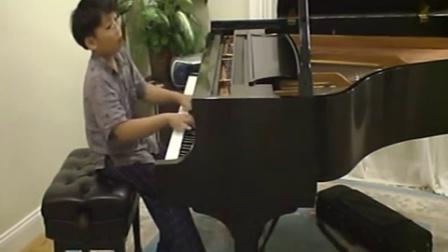 黎卓宇George li (10 岁)演奏肖邦练习曲作品10第5号《黑键》George li-10-