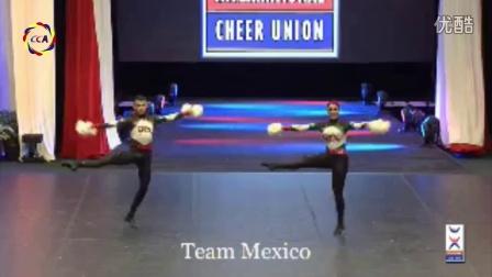 2016世界啦啦操锦标赛双人花球第一名——墨西哥队