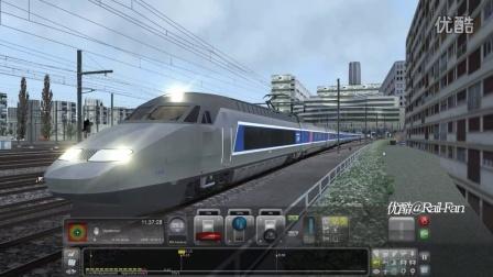 模拟火车2016 法国高铁TGV JT版驾驶教程
