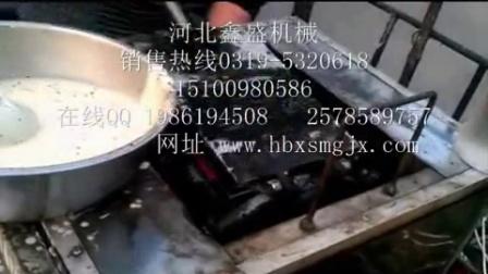 生产商用蛋卷机 全自动燃气蛋卷机 冰淇淋脆皮机销售 (17)