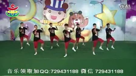 幼儿舞蹈 大班男孩舞蹈 战豆 儿童舞蹈教学视频