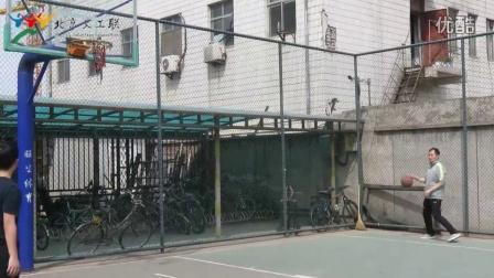 北京义工联10周年活动之定点投篮比赛