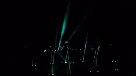 泗县群星演唱会开场灯光秀