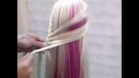 美发店常用的时尚编发型简单漂亮适合新手