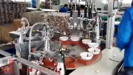 吸頂筒燈自動組裝機 燈具自動裝配機視頻
