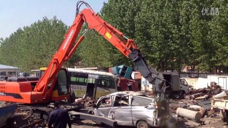 河南黄海YGC245汽车拆解机