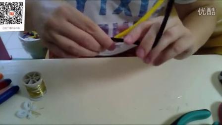 纸慧手工坊亲子手工课彩色扭扭毛条创意毛根制作小蜜蜂视频教程