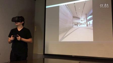 「医用空间虚拟实境模拟研究平台」VR 测试