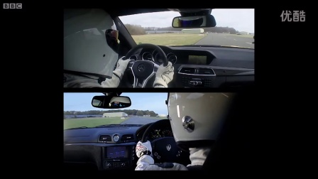 Mercedes-Benz C63 AMG vs Maserati GT Stradale - Top Gear - The Stig - BBC