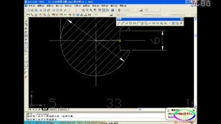 在路上UG工程图输出 杨老师ug机械工程图制作