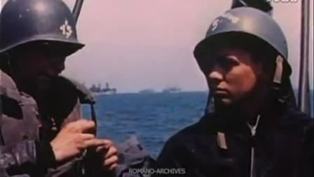 1944 D-day诺曼底登陆彩色记录 Footage 1 of 3