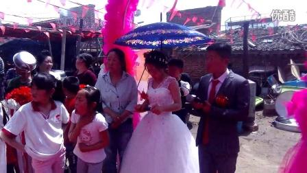 新郎,刘飞,新娘李瑞瑞结婚典礼。