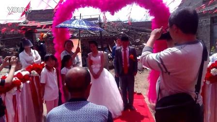 新郎刘飞新娘李瑞瑞结婚典礼