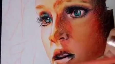 #美杜莎#终于画好了~诸神之战电影截图原图...|影影夜