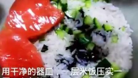 #美食#寿司蛋糕~第一次做,不喜勿喷。怕...|与美食共存