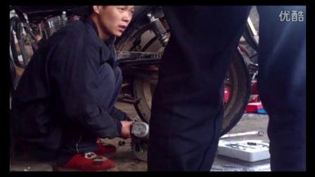 钱江125摩托车换牙盘链条维修视频18例
