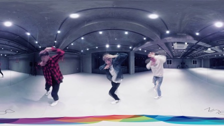 [DOORIBUN_360VR] ALIVE DANCE Studio(3D  Color)