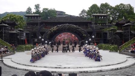 欢乐贵州行10西江千户苗寨之二舞蹈