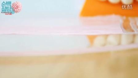 母亲节礼物-巧克力康乃馨蛋糕