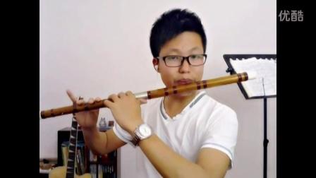 笛子演奏《狮王争霸》(少年黄飞鸿主题曲)- 刘焕