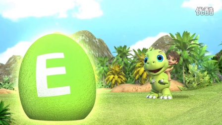 【幼儿英文歌曲教学】恐龙ABC歌 The Good Dinosaur ABC Alphabet Song Opening Surprise Eggs
