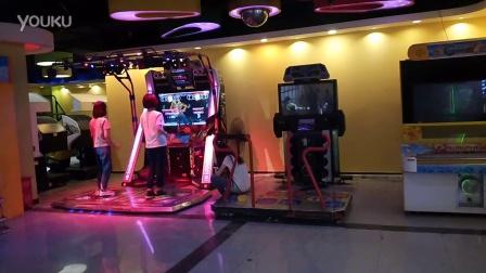 双人萌萌哒美女跳舞 大写的两个萌 天津娱乐厅跳舞机2016 萌妹子秀