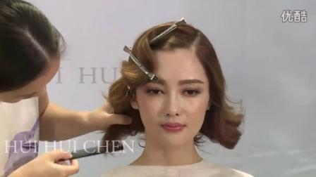 彩妆学校新娘的发型(6)新娘化妆造型宝典