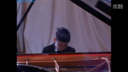 王子游(钢琴演奏)。Czerny 849-6. 2016年霍洛维茨国际钢琴大赛,基辅。帕格尼尼变奏曲