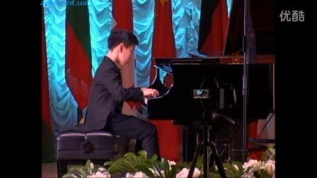王子游(钢琴演奏)。Tchajkovsky Napoli song 2016年霍洛维茨国际钢琴大赛,基辅。柴可夫斯基