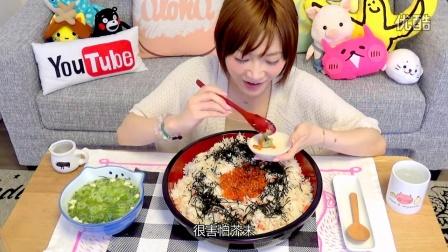 【大吃货爱美食】木下养不起之豪华螃蟹鲑鱼子盖饭篇~160506