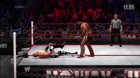 WWE 2K14 - Cowboy Breaks In His New Horse - Gyaku Ryona Male on male