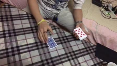 038(李祯禧):纸牌燃烧魔术表演