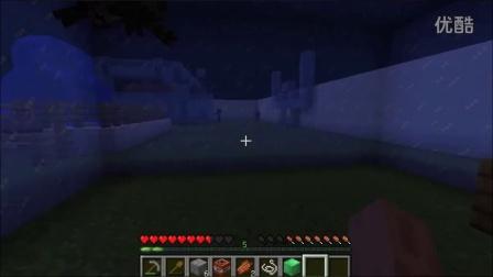 月下小莫解说《Minecraft水的解密寻找》哈哈,作死毁地图