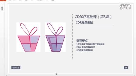 CorelDRAW入门教程《案例剖析》CDR基础教程 CDR软件
