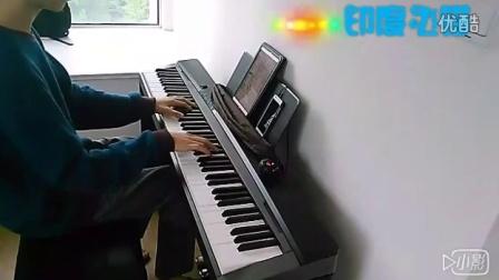 钢琴 二胡合奏 风居住的街道_tan8.com