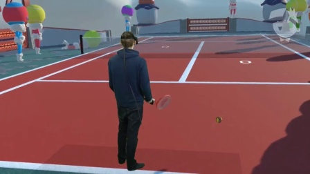 _selfietennis - HTC Vive混合现实让`玩_VR资源网(VRZY.COM)