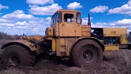 【天火农机】改装的第一台俄罗斯K701拖拉机