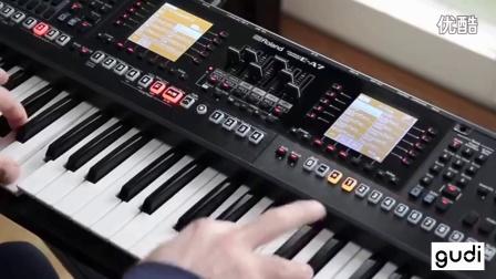 [gudi音乐] Roland E-A7 罗兰最新编曲键盘 EA7电子琴合成器节奏风格演示音色试听