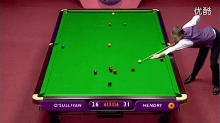 斯諾克世錦賽經典之戰_2002半決賽 亨得利VS奧沙利文(BBC高清)