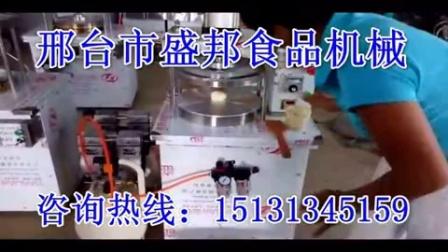 常德市 新型烤鸭饼机 电动春饼筋饼机 自动烙饼玉米饼机 盛邦机械 厂家直销 水烙馍春饼机