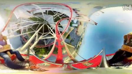 好莱坞环球电影的过山车360度VR全景视频公众号-顾小逗 Universal  Hollywood_超清