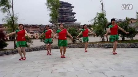 太湖县开心广场舞《我的快乐就是想你》编舞:开稳