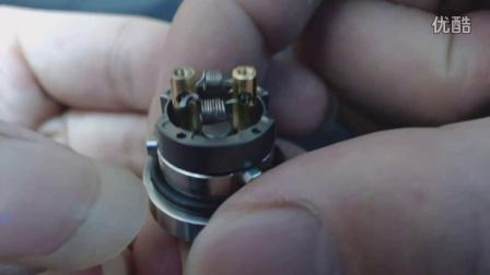 浩炫蒸汽 316钢精工 squape-x雾化器 sqx雾化器 开箱评测