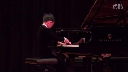 (加拿大全国音乐比赛)Ray Zhang (9) plays Variations on 'The Nightingale ' in 2016 CMC