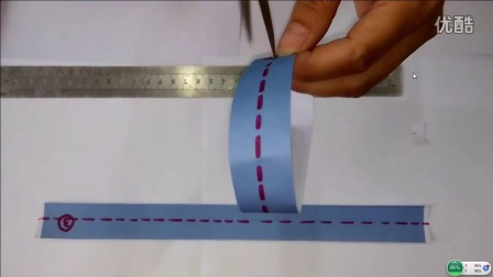 普通纸环和莫比乌斯带二等分演示2016ld