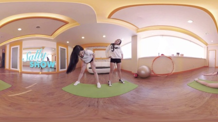 [360 VR Girls] Sally Show EP3. Exercise Time