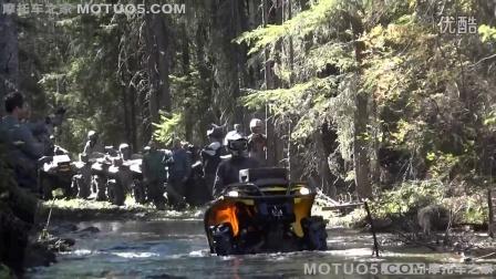 【摩托车之家】ATV极限运动系列:实拍老外驾驶沙滩车挑战丛林沼泽!