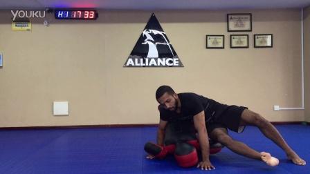 【原创】ALLIANCECHINA巴西柔术教学视频之如何使用柔术假人训练3