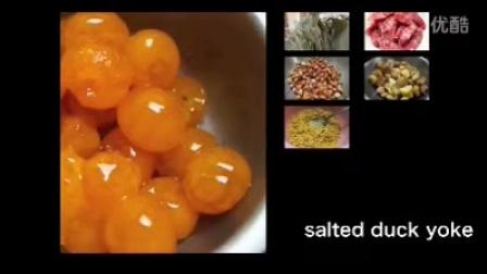 端午节老奶奶包肉粽子的材料及制作过程高清实拍视频素材