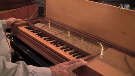 钢琴和古钢琴演变视频,包括击弦古钢琴,拨弦古钢琴